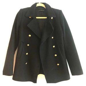 Zara double botton coat